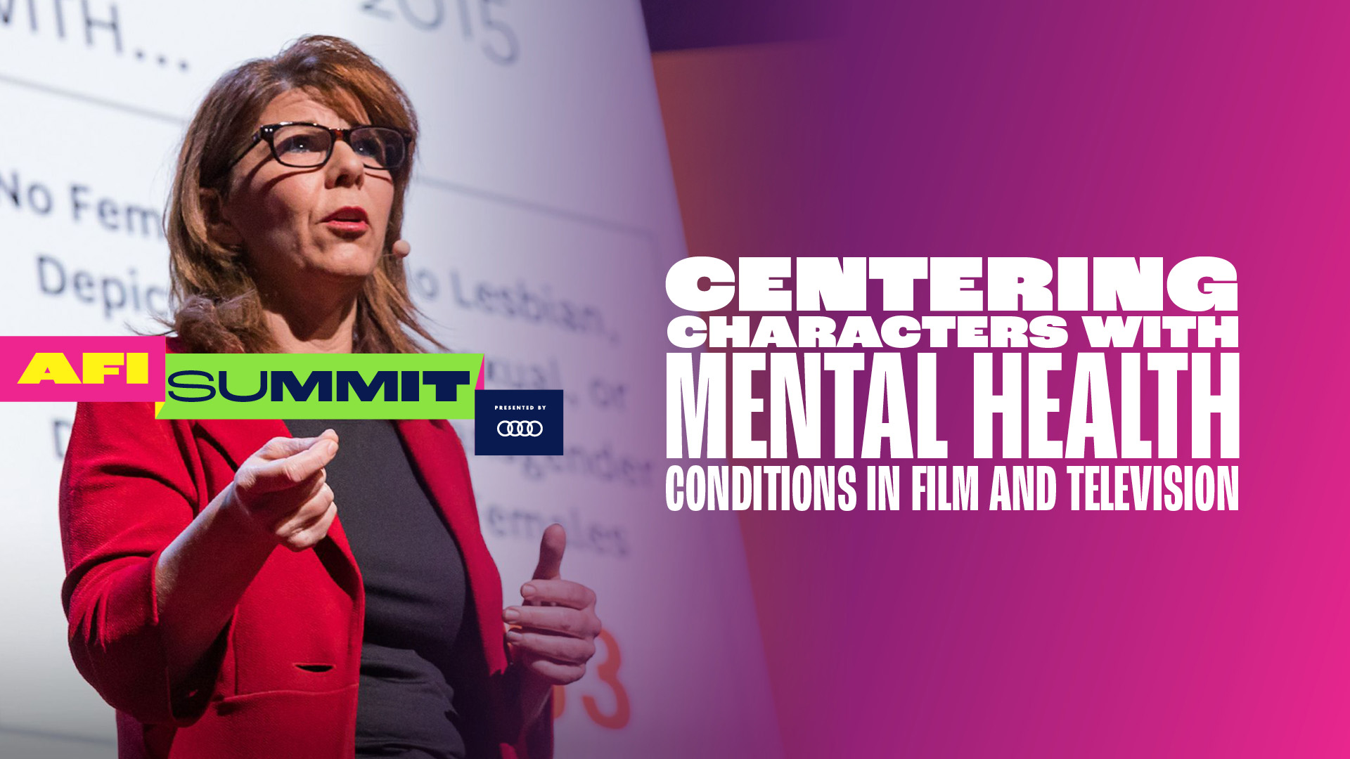 CENTERING CHARACTERS WITH MENTAL HEALTH CONDITIONS IN FILM AND TELEVISION